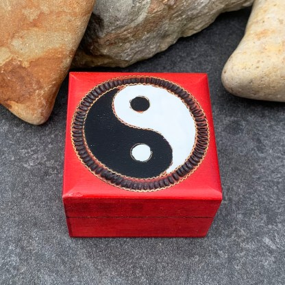 Handcrafted Yin Yang Box