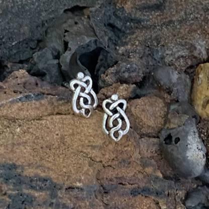 Celtic Knot Sterling Studs