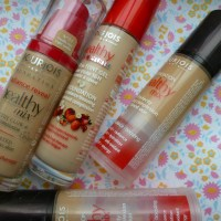 A Healthy Obsession? Bourjois Healthy Mix Comparisons