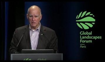 2015 Global Landscapes Forum: Governor Jerry Brown – Keynote