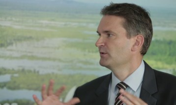 Tim Christophersen of UN Environment: 'Peatlands are one of the least-understood ecosystems.'