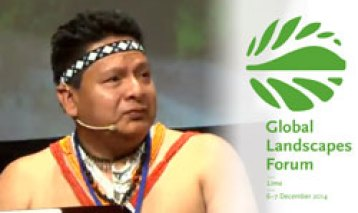 Indigenous leader at GLF 2014: Development efforts in forests must respect people's rights