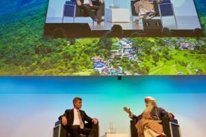 Sadhguru and Erik Solheim: A holistic and landscape view on change