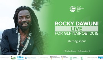 Rocky Dawuni performs at GLF Nairobi 2018