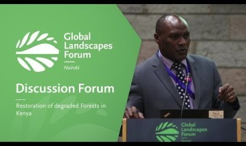 Restoration of degraded forests in Kenya (Discussion Forum 1)