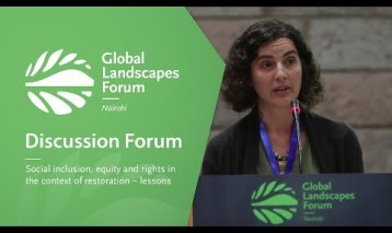 Social inclusion, equity and rights in the context of restoration – lessons from the ground (Discussion Forum 5)
