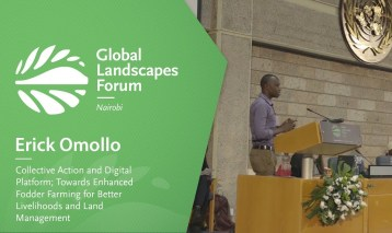 Erick Omollo – Collective Action and Digital Platform; Towards Enhanced Fodder Farming for Better Livelihoods and Land Management