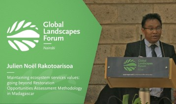 Julien Noël Rakotoarisoa – Maintaining ecosystem services values going beyond Restoration Opportunities Assessment Methodology