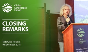 Jennifer Morgan – Closing Remarks, GLF at COP24