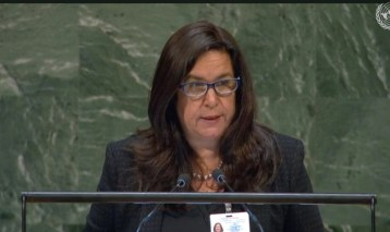 Lina Pohl addresses UN on the Decade of Ecosystem Restoration