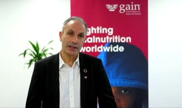 Lawrence Haddad, Executive Director, Global Alliance for Improved Nutrition