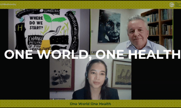 One World One Health: setting the scene and the mood – GLF Biodiversity Plenary