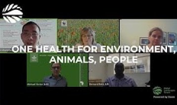 A One Health approach for environmental, animal and human health