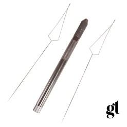 stainless steel nano loop tool - 2 x replaceable heads