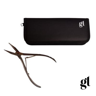 gl stainless steel tape hair pliers with carry case