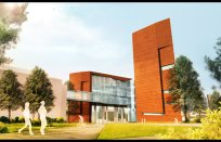 NAU Science & Health Building - North Rendering