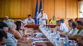 Ședința de constituire a Consiliului raional Drochia. © Nelly Ciobanu/GD