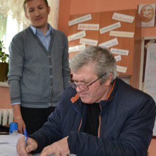 Primarul Valeriu VARMARI, Hăsnășenii Mari