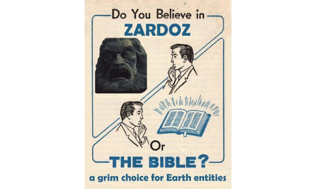 ZARDOZ FRIDAY NIGHT ADVICE