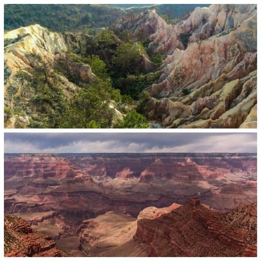 菠蘿山vs大峽谷