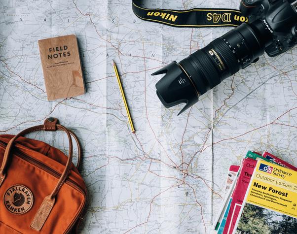 準備規劃未來的旅遊