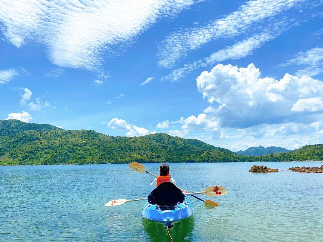 【香港水上活動】西貢海下灣獨木舟浮潛-探索巨大珊瑚群