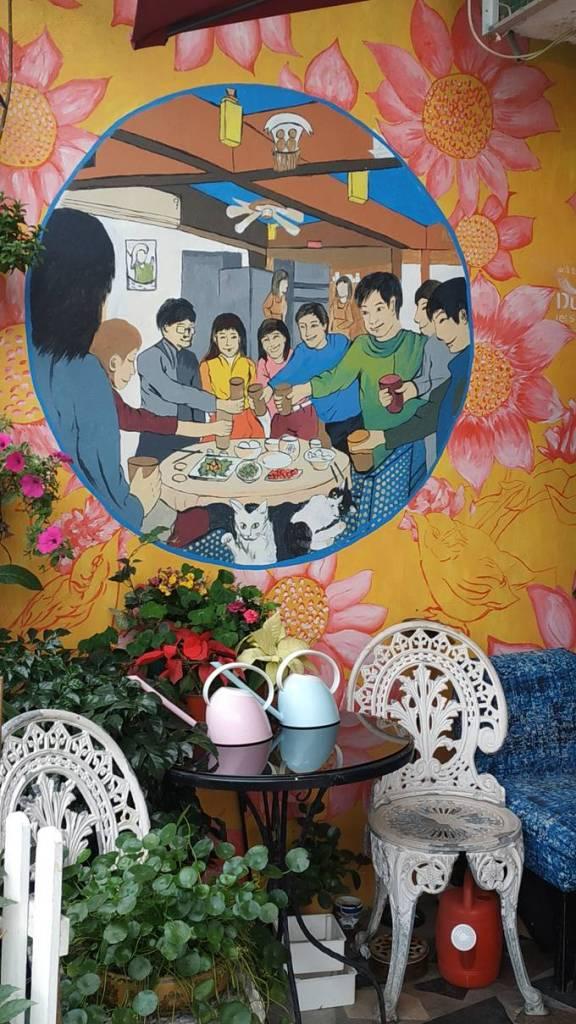 【香港好去處】17個香港壁畫打卡點─香港壁畫村、壁畫街、街頭藝術 - 香港壁畫村──香港壁畫村──錦田壁畫村
