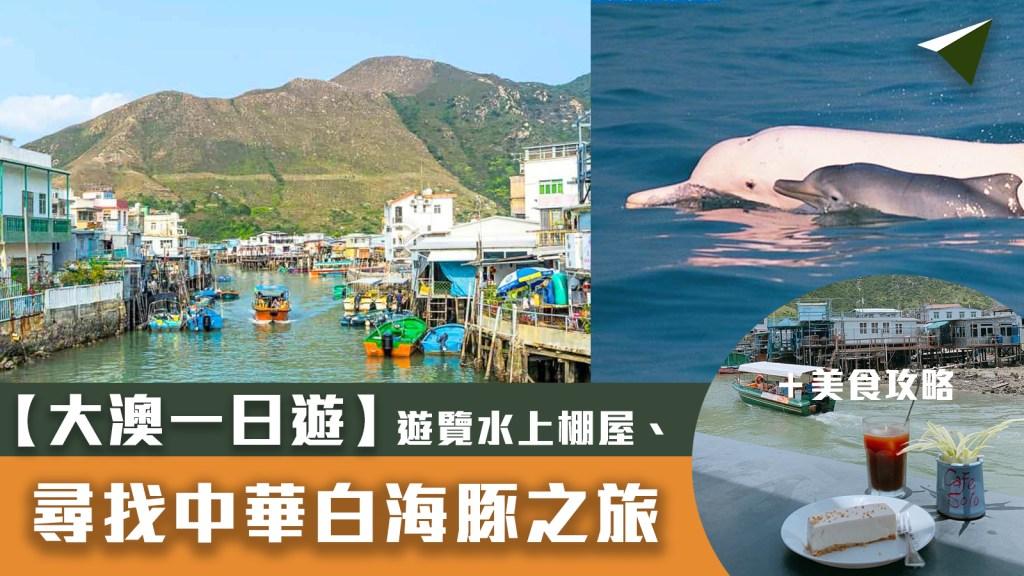 大澳一日遊 大澳交通 中華白海豚大澳