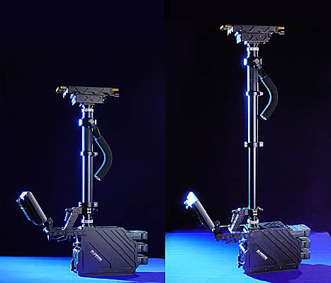 Glidecam Gold Sled Anton Bauer Style Base