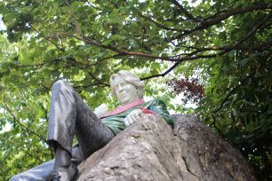 Oscar Wilde's Statue