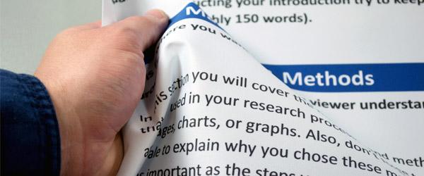 fabric scientific posters