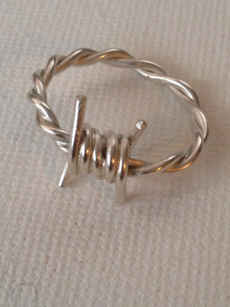 Jewelry Blog Making a Barbed Wire Ring  Glimmer Girl