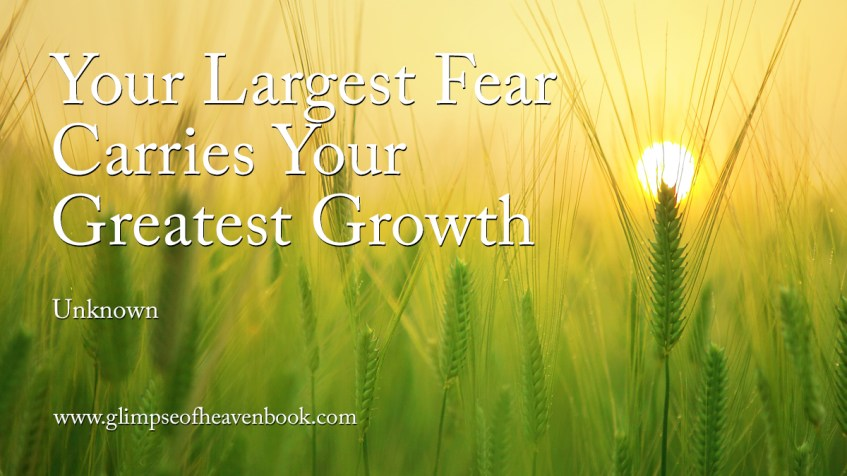 Your Largest Fear Carries Your Greatest Growth