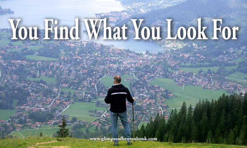 You Find What You Look For