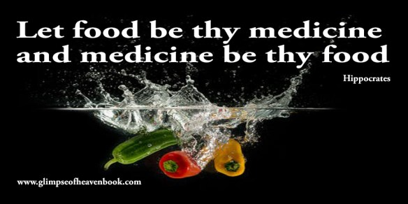 Let food be thy medicine and medicine be thy food Hippocrates