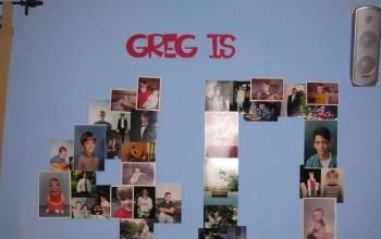 Greg is…