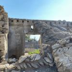 Dilapidated house at Jazeera Al Hamra Old Village