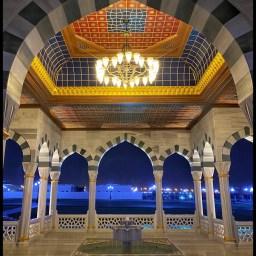Sharjah Grand Mosque pavilion
