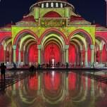 Sharjah Mosque during Sharjah LIght Festival