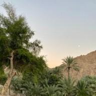 Moon rising in Madha Oman