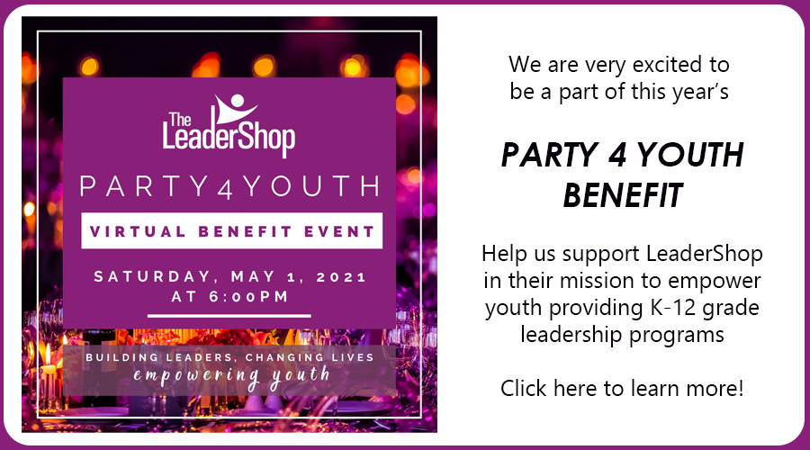 Party4Youth Virtual Benefit