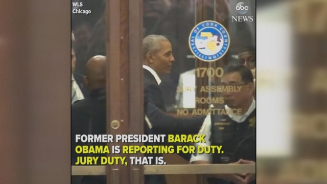 Obama signs book, shakes hands at jury duty via LuiseHicks