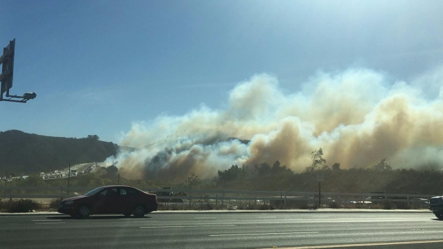 California: San Diego County fires – 23,000 flee homes in Lilac blaze via bridgesfreezefirst