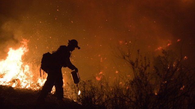 California Wildfires Stoked by Increased Winds as Residents Flee via ProgrammoSaurusRex