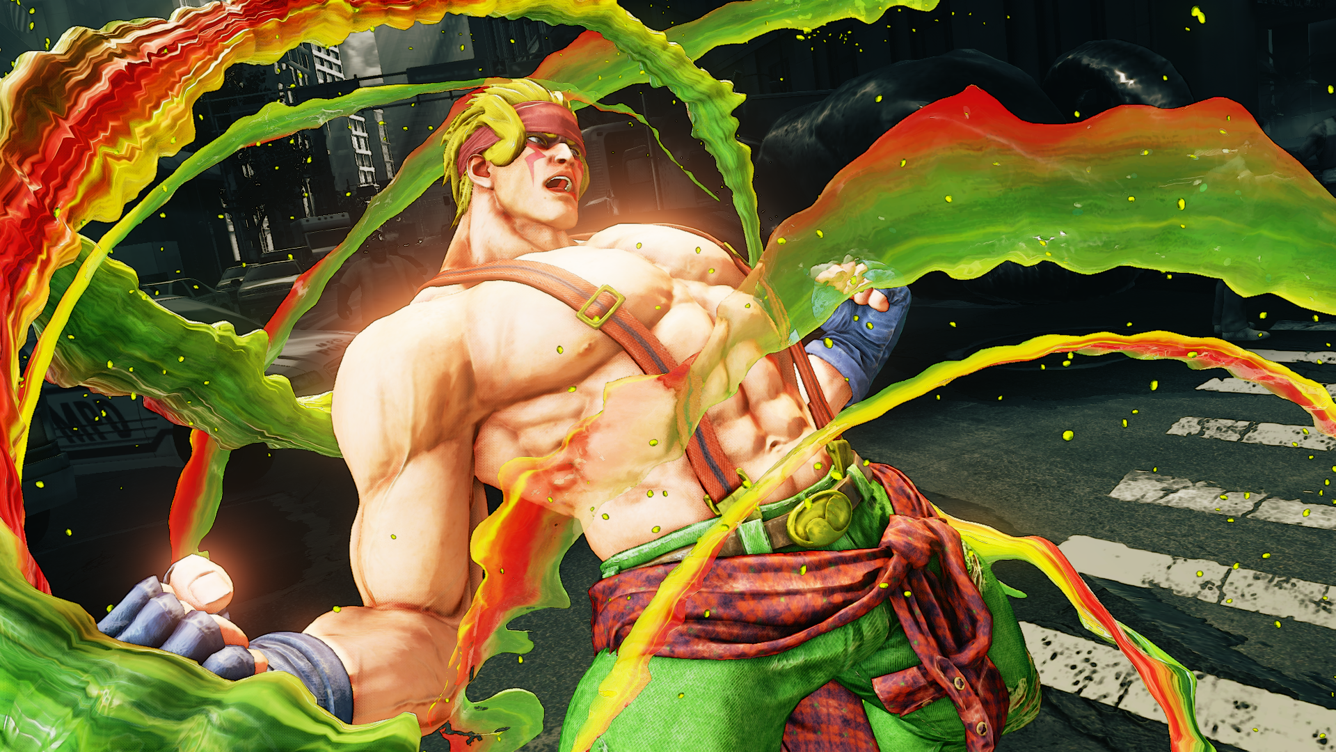 Alex Now Available For Street Fighter V