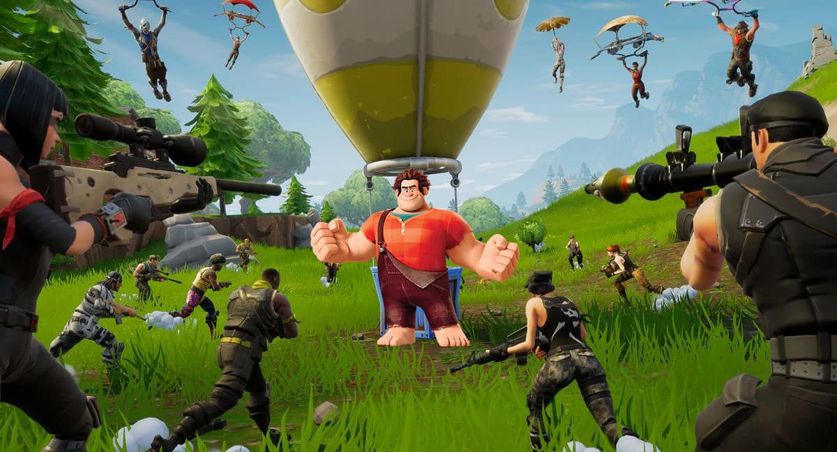 Fortnite Crossover Event