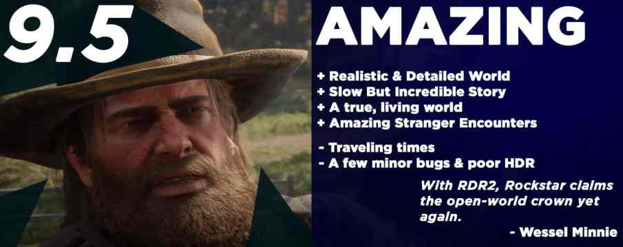 RDR2 Review Summary