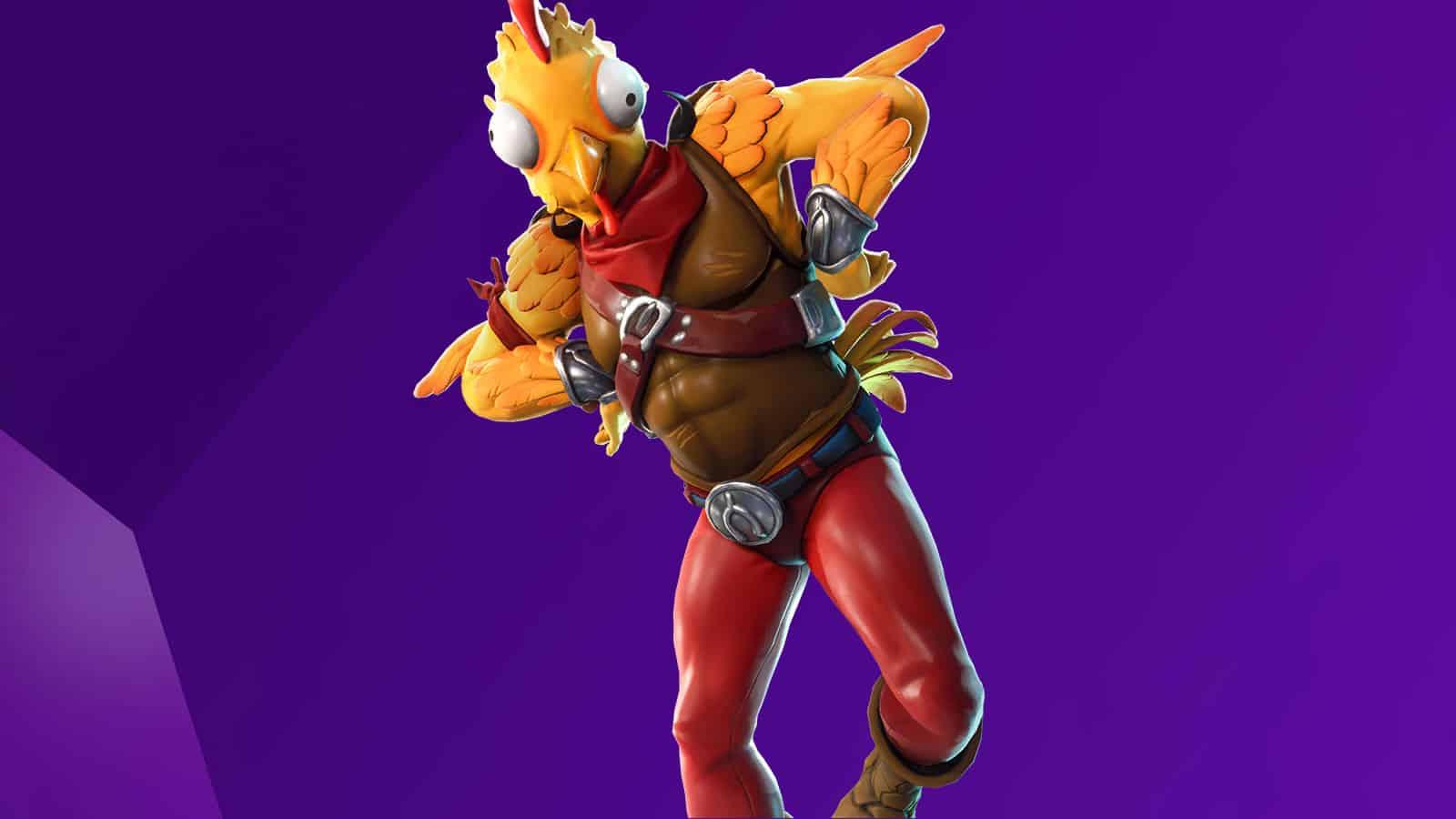Chicken-Themed Fortnite Skin