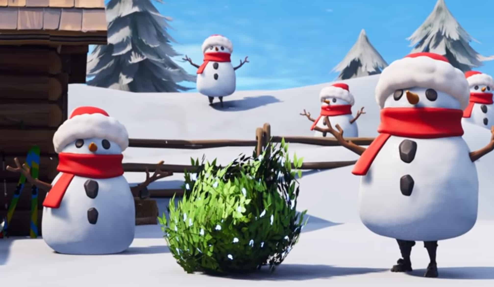 Fortnite Sneaky Snowman And Sniper Shootout Ltm Released Glitched