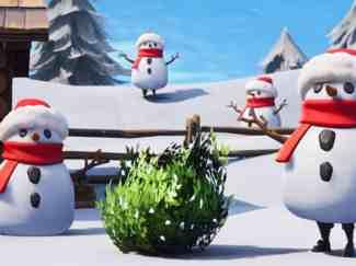 Fortnite Sneaky Snowman
